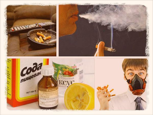 Как быстро избавиться от запаха табака в квартире
