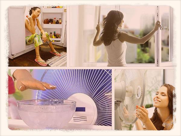 Как сделать комнату прохладной без кондиционера
