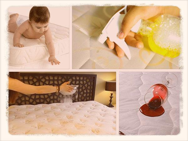 Чистить матрас в домашних условиях