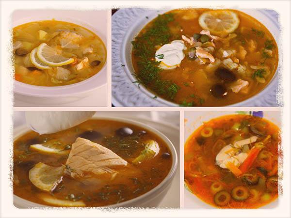 видео рецепты солянка рыбная