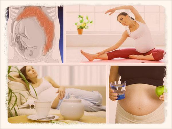 как избавиться от запора во время беременности
