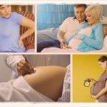 Симптомы ложных схваток при беременности