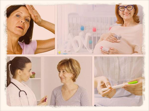 женщины во время климакса и беременность
