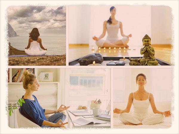 медитирующие женщины
