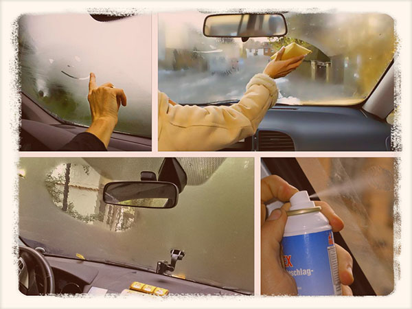 запотевшие окна в автомобиле