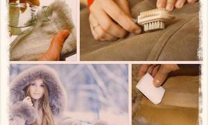 Как почистить натуральную дубленку
