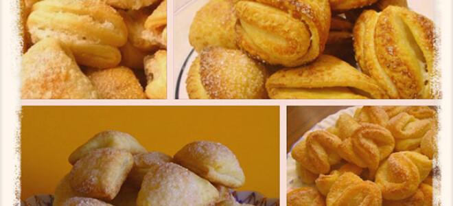 Рецепт творожного печенья «треугольники» рецепт с фото