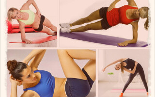 Как делать зарядку для похудения живота и боков