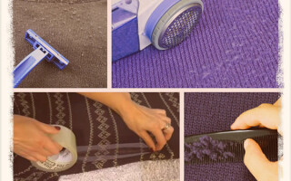 Как убрать катышки с одежды в домашних условиях