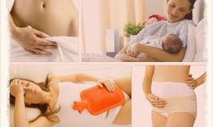 Выделения после родов: в норме и при проблемах