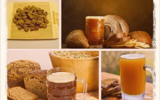 Делаем квас из ржаного хлеба в домашних условиях
