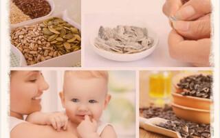 Можно ли кормящей маме семечки