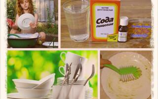 Делаем моющее средство для посуды своими руками