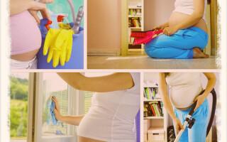 Можно ли убираться во время беременности
