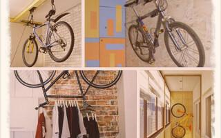 Как хранить велосипед зимой в квартире