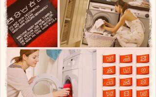 Что означают значки на одежде для стирки: расшифровка