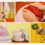 Как отстирать кухонные полотенца: 16 способов