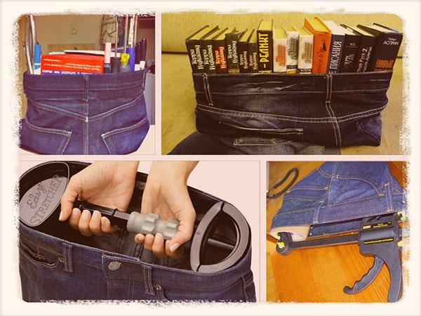 как растянуть джинсы расширителем