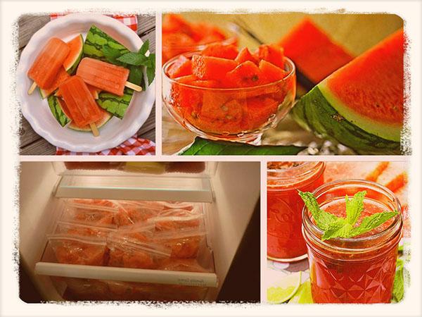 сколько можно хранить арбуз в холодильнике