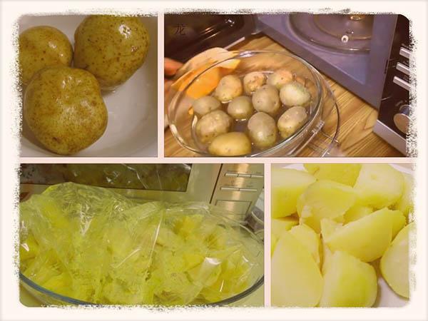 Как быстро сварить картошку в микроволновке