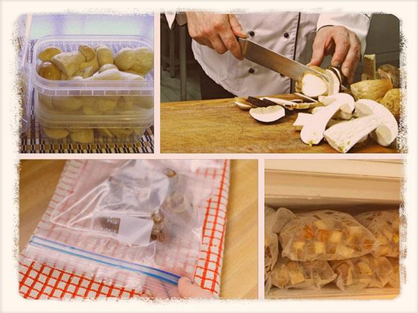Как заморозить белые грибы на зиму в морозилке