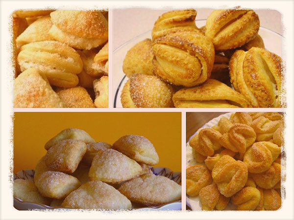 печенье творожное треугольники рецепт с фото