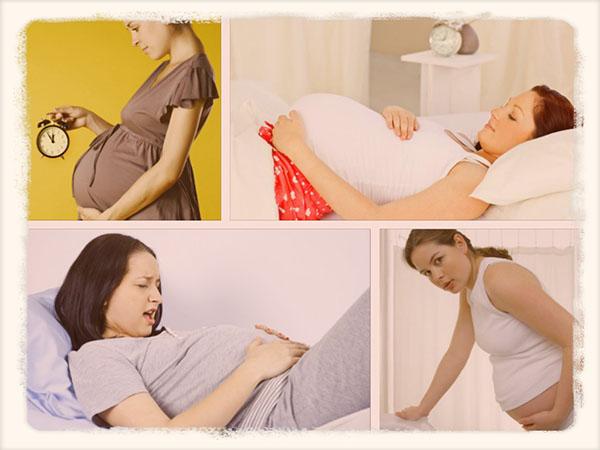 ложные схватки при беременности симптомы