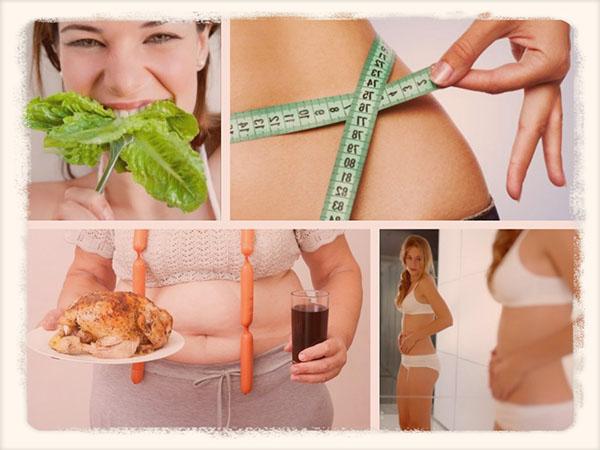 Как правильно питаться чтобы убрать живот и бока