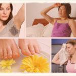 Как избавиться от потливости ног, рук, подмышек