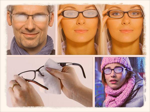 запотевшие очки зимой