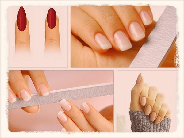 ногти разной формы