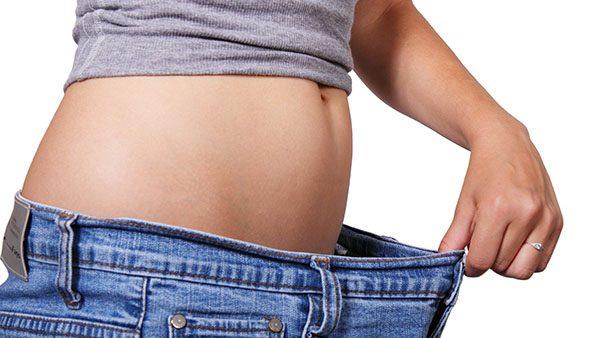 девушка похудела живот джинсы